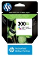 HP HP CC644EE  (300XL)  UC RENKLI YUKSEK KAPASITE KARTUS Renkli
